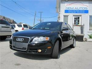 2007 Audi A4 2.0T Quatro All Wheel Drive Clean Leather Sunroof