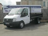 Ford Transit 2.4TDCi[100PS] BRAND NEW 10'6 STEEL TIPPER BODY DIESEL 2009/59