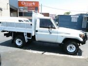 1996 Toyota Landcruiser HZJ75RP (4x4) White 5 Speed Manual 4x4 Cab Chassis Revesby Bankstown Area Preview