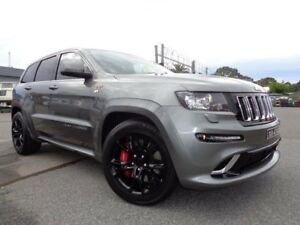 2013 Jeep Grand Cherokee WK MY13 SRT 8 (4x4) Grey 5 Speed Automatic Wagon Pooraka Salisbury Area Preview