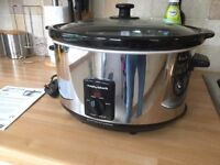 MORPHY RICHARDS Sear and Stew Slow Cooker - Like New