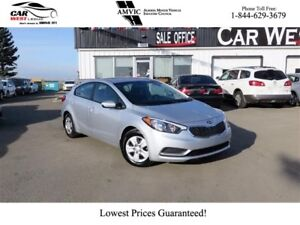 2016 Kia Forte LX | BLUETOOTH | GREAT ON GAS!