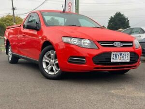 2012 Ford Falcon Red Automatic Utility