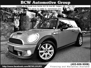 2012 Mini Cooper S Chrome Line Certified Must See $17,995.00