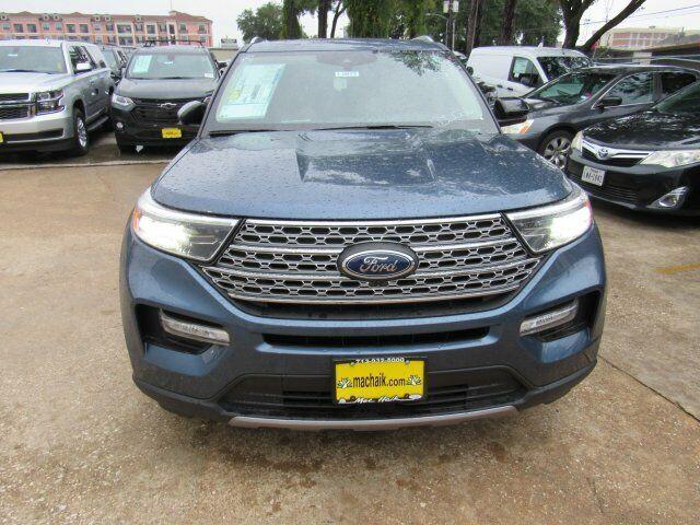 Owner 2020 Ford Explorer Limited 1727 Miles Blue Metallic Sport Utility Intercooled Tu