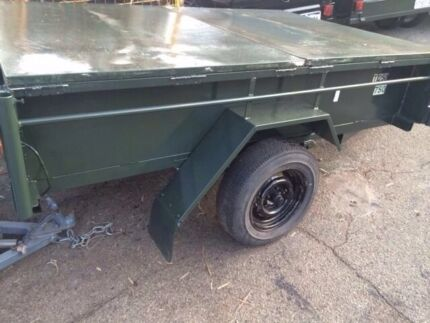 **QUICK SALE** 7 x 5 Galvanised Trailer with Removable Cover and Rego  Beckenham Gosnells Area Preview