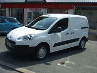 Peugeot Partner 1.6HDi Diesel Van Citroen Berlingo Side Loading Door Low Miles
