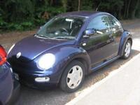Volkswagen Beetle 1.8T 2002MY TURBO AUTOMATIC