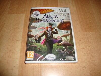 ALICIA EN EL PAIS DE LAS MARAVILLAS DISNEY PARA LA NINTENDO Wii...