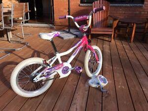 Vélo Giant 16 pouces Fille