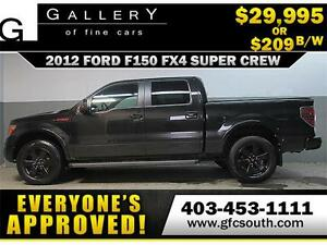 2012 FORD F150 FX4 CREW *EVERYONE APPROVED* $0 DOWN $209/BW!