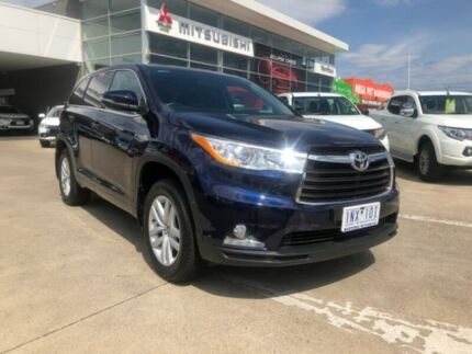 2016 Toyota Kluger GSU50R GX 2WD Blue 8 Speed Sports Automatic Wagon Hoppers Crossing Wyndham Area Preview