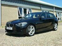2012 12 BMW 1 SERIES 2.0 120D M SPORT 5D 181 BHP DIESEL
