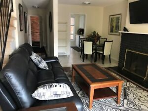 Rent Fully Furnished Home Spacious 3/4 bedrooms W/D Wifi Sarnia