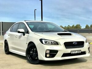 2016 Subaru WRX V1 MY16 Special Edition AWD Pearl White 6 Speed Manual Sedan Blacktown Blacktown Area Preview