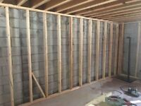 BEST SERVICE for FRAMING MAN & Carpenter to hire for your baseme