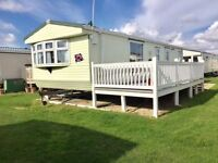 Double glazed holiday home with decking - Finance options available, not Kent or Norfolk.