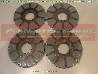 Am1967t Brake Disc Set Of 4 For John Deere 1010 320 330 40 420 430 At13068