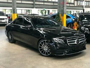 2017 Mercedes-Benz E300 W213 Sedan 4dr 9G-TRONIC PLUS 9sp 2.0T Black Sports Automatic Sedan Port Melbourne Port Phillip Preview