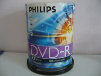 STACK OF 100 PHILLIPS DVD-R VIDEO DISCS - SOUTHBOURNE