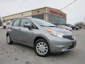 2015 Nissan Versa SV, A/C, BT, CAMERA, LOADED, 35K!