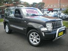 2010 Jeep Cherokee KK Limited (4x4) Charcoal 4 Speed Automatic Wagon Homebush Strathfield Area Preview