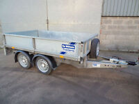 Ifor Williams twin axle drop side trailer