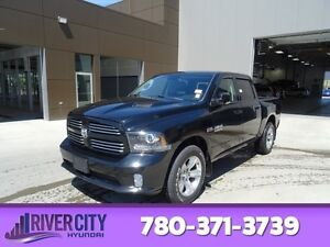 2013 Ram 1500 4WD CREWCAB SPORT Navigation (GPS),  Leather,  Hea