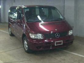 image for MERCEDES BENZ V230 AUTOMATIC DAY VAN * LOW MILEAGE * RUBY METALLIC