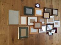 Selection of assorted photo/picture frames