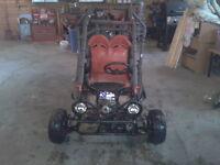 110cc Carbide Go-Cart