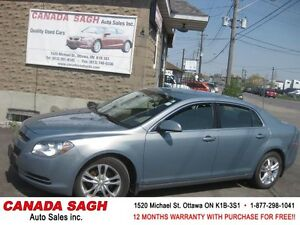 2009 Chevrolet Malibu 2LT LOADED CAR 12M.WRTY+SAFETY $7500