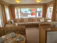 Cosalt Torino extra wide 3 bedroom, family starter caravan in Cornwall Mullion