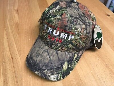 TRUMP 2016  Donald Trump Hat Republican  Camo Baseball Cap Hat Mossy Oak