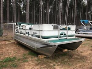 ***BUDGET PONTOON*** 2003 20' SUNPARTY WITH 40HP YAMAHA