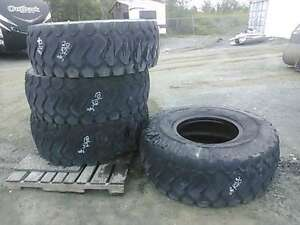 Loader. Tires