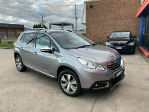 2014 Peugeot 2008 A94 Allure Grey 4 Speed Sports Automatic Wagon