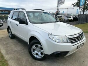 2009 Subaru Forester S3 MY09 X White Sports Automatic Wagon Mulgrave Hawkesbury Area Preview