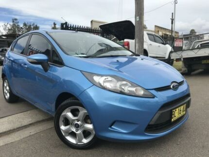 2009 Ford Fiesta WS CL Blue 5 Speed Manual Hatchback Cambridge Park Penrith Area Preview