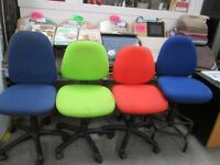 💥COLOURFUL SWIVEL OFFICE CHAIRS ONLY FROM £10 each💥