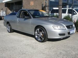 2007 Holden Commodore VZ MY06 Upgrade Silver 6 Speed Manual Utility Wangara Wanneroo Area Preview