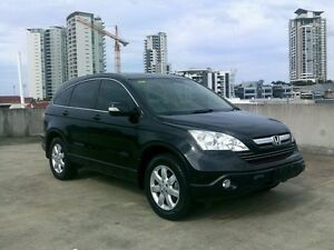 2008 Honda CR-V RE MY2007 Luxury 4WD Black 5 Speed Automatic Wagon Southport Gold Coast City Preview