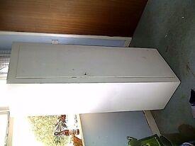 white wardrobe/cupboard