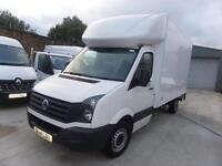 VOLKSWAGEN CRAFTER CR35 13FT6 LUTON BOX 140BHP