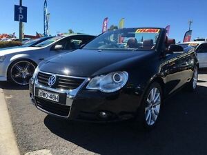 2007 Volkswagen EOS 1F MY08 Upgrade 2.0 TDI Black 6 Speed Direct Shift Convertible St Marys Penrith Area Preview