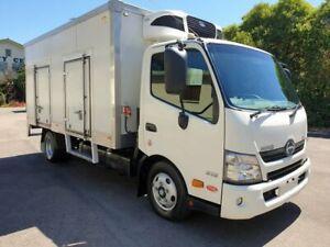2016 Hino Dutro 300 616 3 Pallet Freezer White Refrigerated Truck 4.0l Homebush West Strathfield Area Preview