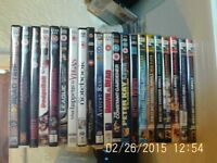 X21 - DVD's Mixed Genre - All in VGC