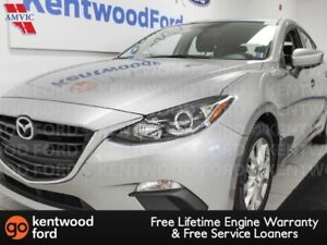 2015 Mazda Mazda3 GS with skyactiv technology, heated seats and