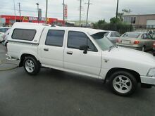1995 Toyota Hilux RN85R White 4 Speed Automatic Dual Cab Coopers Plains Brisbane South West Preview