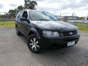 2008 Ford Territory SY SR RWD Black 4 Speed Sports Automatic Wagon Bayswater North Maroondah Area Preview